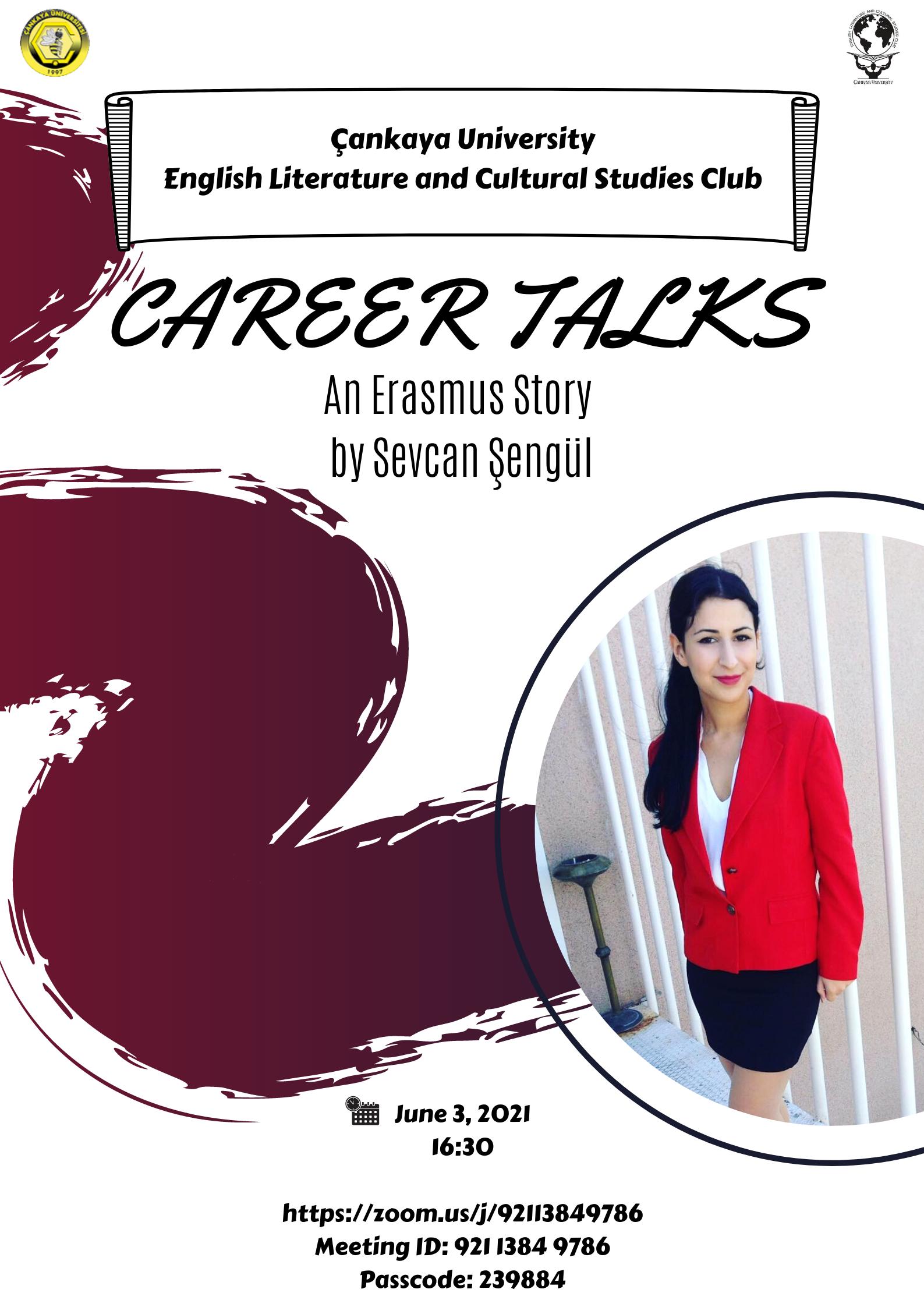 Career Talks: An Erasmus Story by Sevcan Şengül